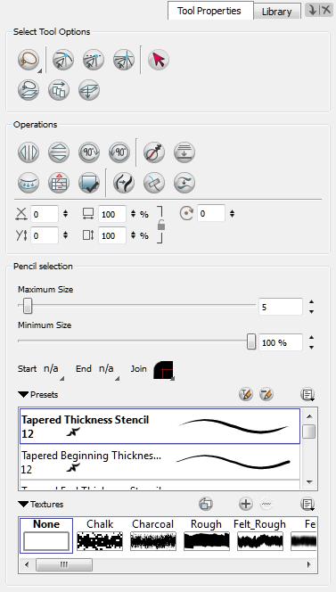 Animate 3 Pro Online Help: Shape Tool Options