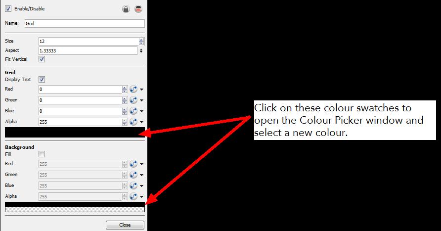 Animate 3 Pro Online Help: Grid / Field Chart