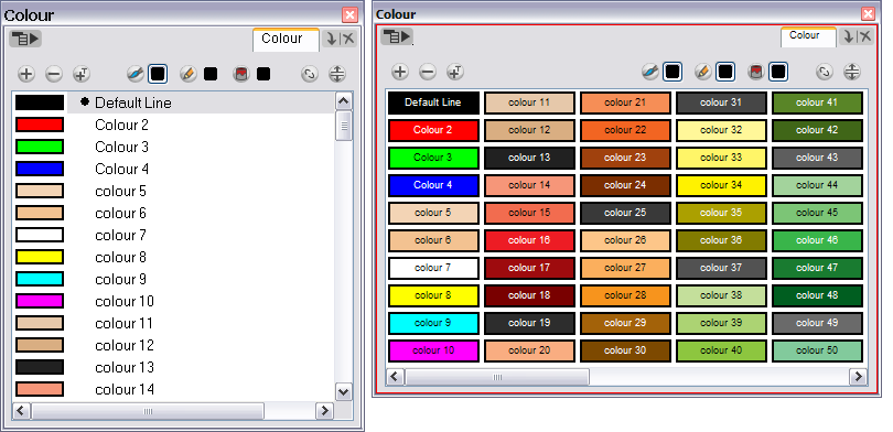 animate 3 online help colour display modes