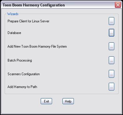 Toon Boom Harmony 10 3 Documentation: Configuration