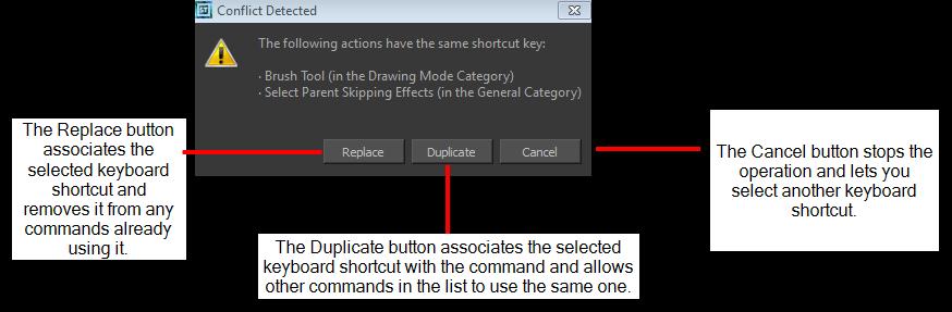 Harmony 11 Workflow Network Documentation: Shortcut Preferences