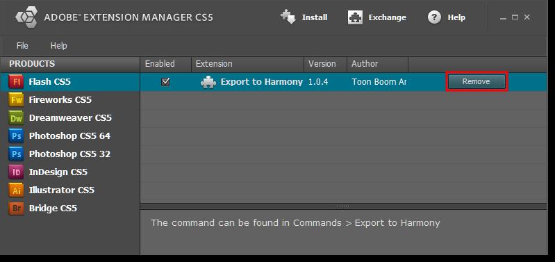 Harmony 12 2 Premium Documentation: Importing FLA Files