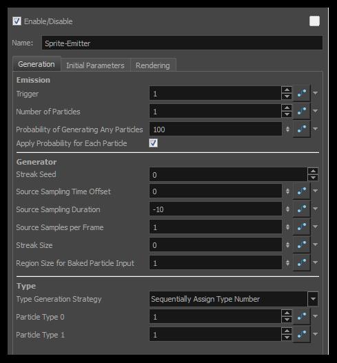 Harmony 12 1 Premium Documentation: Sprite Emitter