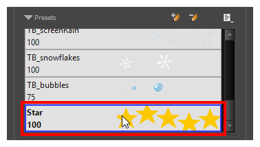 In The Tool Properties View Select A Stamp From Presets List See Creating And Multi Drawing