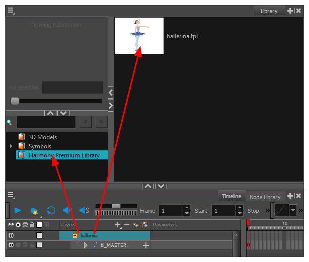 Harmony 16 0 Premium Documentation: Creating Templates
