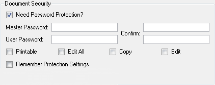 how to add password to pdf
