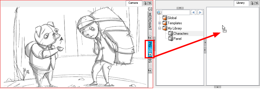 Storyboard Pro 4.2 Online Help: How to Create Templates