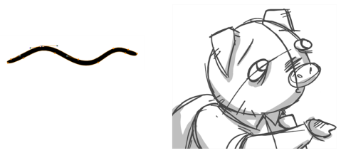 Storyboard Pro 4 2 Online Help Drawing With The Brush Tool