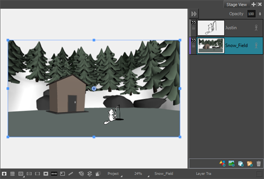 Storyboard Pro 6 0 Online Help: About Adding 3D Models to 2D Scenes