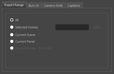 Storyboard Pro 6 0 Online Help: Exporting an EDL, AAF or XML Sequence
