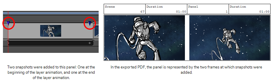 Storyboard Pro 6 0 Online Help: About Snapshots