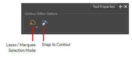 storyboard pro 6 0 online help about the contour editor tool modes